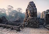 雕塑,佛,吴哥窟,庙宇,柬埔寨
