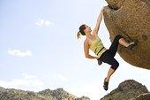女人,攀岩,新墨西哥,美国
