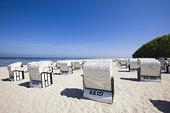 沙滩椅,塞林,吕根岛,梅克伦堡州,德国