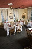 桌面布置,餐馆