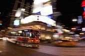 街道,电车,多伦多,安大略省,加拿大