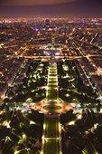 夜晚,巴黎,法国