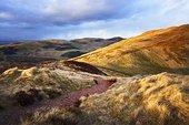 小路,山,中洛锡安郡,苏格兰