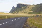 道路,山峦,冰岛