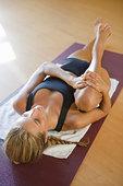 女人,瑜珈