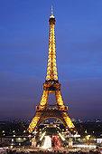 埃菲尔铁塔,巴黎七区,巴黎,法兰西岛,法国