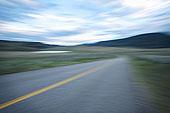 模糊,道路,奥克纳根谷,不列颠哥伦比亚省,加拿大