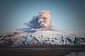火山爆发,冰河,冰岛