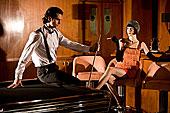 肖像,20世纪20年代,社会名流,伴侣,台球桌,酒吧