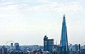 俯视图,碎片,伦敦眼,伦敦