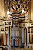 埃及,开罗,城市,清真寺,陵墓,沙阿,伊朗,墓地,南非,局部,墓室,皇帝,穆罕默德