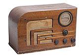 老式,无线电