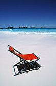 海景,折叠躺椅,海滩