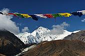 经幡,萨加玛塔国家公园,昆布,地区,萨加玛塔,尼泊尔