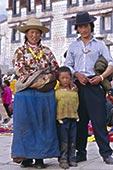 肖像,孩子,藏民,家庭,拉萨,西藏,中国,亚洲