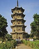 10世纪,石塔,庙宇,泉州,福建,中国
