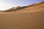 交通工具,沙丘,撒哈拉沙漠,费赞,利比亚,北非,非洲