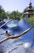 游泳池,东方,酒店,清迈,泰国,东南亚,亚洲