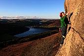 悬崖,高处,水库,峰区,德贝郡,英格兰,英国,欧洲