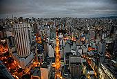 天际线,圣保罗,巴西,南美
