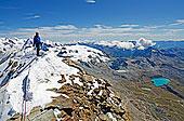 攀登,顶峰,马塔角,策马特峰,瓦莱,阿尔卑斯山,瑞士,欧洲