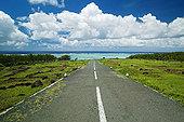 道路,通过,海洋,毛里求斯