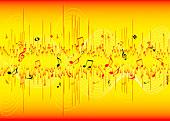 红色,黄色,音乐,灵感,抽象,背景,房间,文字