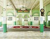 室内,清真寺,缅甸