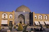 伊朗,伊斯法罕,广场,清真寺