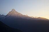 山脉,安娜普纳保护区,喜马拉雅山,尼泊尔