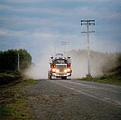 卡车,道路
