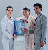 商务人士,冷水机,办公室