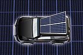 太阳能,汽车