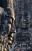 柬埔寨,收获,巴扬寺,雕刻,脸