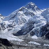 尼泊尔,单独,昆布,珠穆朗玛峰